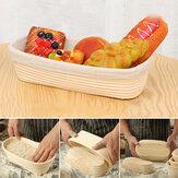 Banneton Bread Pan Bakery Proofing Bread Proofing Basket For Dough Bakery Strumenti Scatola Cestino ovale in rattan a fermentazione