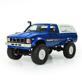 WPL C24 1/16 Kit 4WD 2.4G Military Truck Crawler Off Road RC Car 2CH Toy