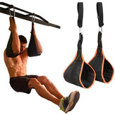 2PCS Home Bauchmuskeltraining Schlingen Gurte Klimmzüge Beinbehang Raiser Gym Fitness-Trainingsgeräte