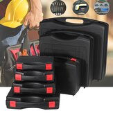 Black Hard PP Carry Case Bag Tool Holder Storage Box Portable Organizer