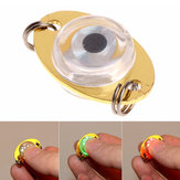 Botón ZANLURE Batería pesca Lámpara pesca Lure Light Underwater Eye Shape Night Lights
