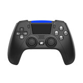 DATA FROG P4 bluetooth Wireless Game Controller for PS4 Console PC Android Mobile Phone 6-axis Dual Vibration Gamepad Joysticks for Steam