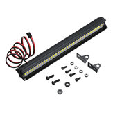 36LED Super Bright luz LED Bar Roof Lámpara Set para 1/10 TRX4 SCX10 90046 Crawler Rc Coche