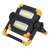 Rechargeable 180 Degree Rotable COB LED Work Light USB Charging 150W 6500K White for Outdoor Camping Car Reparing