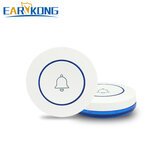 EARYKONG 433MHz Wireless SOS Button Panic Button For Home Doorbell Burglar Alarm System