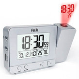 FanJu FJ3531 Projection Alarm Clock Caricatore USB Snooze Double Alarm Retroilluminazione Desk Clock