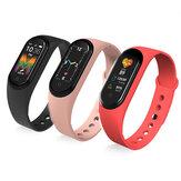 [Bluetooth-Anruf] Bakeey M5 BT5.0 Herzfrequenz-Blutdruckmessgerät Bluetooth-Musik Multisport-Modi Smart Wristband Watch