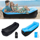 210T Inflatable Sofa Camping Travel Air Lazy Sofa Sleeping Sand Beach Lay Bag Couch