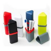 HonanaTrianglePPPortable6Farboptionen Zahnbürste Veranstalter Reise Washing Cup Aufbewahrungsbox