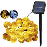 5/7/12/22M Solar Powered LED String Light strip Waterproof Outdoor Garden Decor