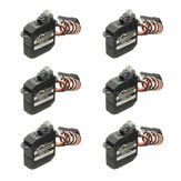 6 PCS JX Servo DHV56MG 5.6g DS Digital Coreless MG Metal Gear HV Servo 1.2 kg 0.10 seg Para O Avião RC