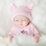 28cm Reborn Doll Simulation Doll Play House Toys Early Education Realistic Doll