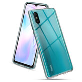 Bakeey for Xiaomi Redmi 9A Case Crystal Transparent Shockproof Non-Yellow Hard PC Protective Case Back Cover Non-original