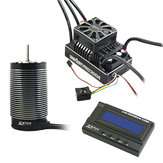 ZTW 3PCS 1/5 Beast Pro 300A Full Waterproof ESC + BP70120 620KV 4 Poles Motor + LCD Program Card