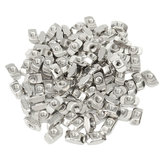 50pcs M5 T Sliding Nut Block for 3030 Aluminum Profile Zinc Coated Plate Aluminum Accessories