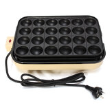 EUPA 24 Holes Takoyaki Grill Pan Plate Cooking Octopus Ball Kitchen Maker Baking Mold