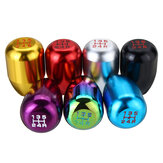 Universal 5 Speed Car Gear Stick Shift Knob Shifter Lever Round Ball Aluminium Alloy M10x1.5 7 Colors