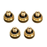 5pcs 0.3mm Brass Misting Nozzles for Cooling System Sprayer