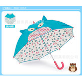 Jipili children male and female baby 3D animal shape cute three-dimensional kindergarten umbrella custom manual umbrella