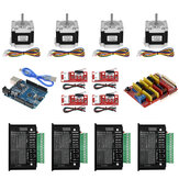 TWO TREES® UNO CNC Kit with Controller + Shield + Nema 23 Stepper Motors + TB6600 + Limited Switches