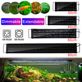 30/40/60/90 cm LED Aquarium Aquarium Licht Traploos Dimmen SMD2835 Water Gras Lamp AC100-240V