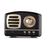 HIFI Mini Retro Sem Fio Bluetooth Speaker Portátil FM Rádio TF Cartão U disco de 3.5mm de Áudio com Microfone