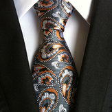 Hommes Entreprise Retro Jacquard Lattice Tie Party Formal Retro Ties