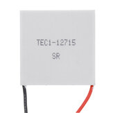 TEC1-12715 12V Heatsink Cooling Peltier TEC Semiconductor Thermoelectric Cooler 40mm*40mm*3.6mm