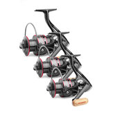 ZANLURE HB4000-6000 5.2:1/4.7:1 12BB Spinning Fishing Reel Wood Handle Fresh Saltwater Carp Wheel