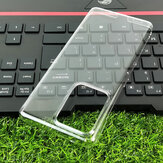 Bakeey for Samsung Galaxy S20 Ultra Case Crystal Transparent Shockproof Non-Yellow Hard PC Protective Case Back Cover