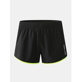 Mens Sport Patchwork Mesh Drawstring Breathable Quick Dry Board Shorts
