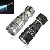 Lumintop 400lm 1200m EDC LEP Torcia 18350 Batteria Mini impermeabile compatto ma a tiro lungo LED Faretto con tubo auto-luminoso bastone