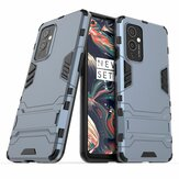 Bakeey for OnePlus 9 Case Armor with Bracket Shockproof PC Protective Case Back Cover
