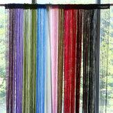 Honana WX-C5 1mx2m Rideaux à cordes Porte Fenêtre Panneau Diviseur Gamme de fil Tassel Curtaion Drape Home Decor