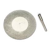 1つのアーバーシャフトを備えたDremelロータリーツール用の60mmダイヤモンド砥石金属カッティングディスク