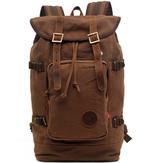 Мужчины Холст Повседневный ретро Путешествия Открытый наплечники компьютер сумка рюкзак