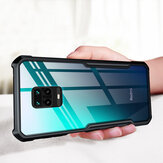 Bakeey For Xiaomi Redmi Note 9S Case Armor Bumper Edge Anti-fall Transparent Soft TPU beskyttelsesetui For Xiaomi Redmi Note 9 Pro / Xiaomi Redmi Note 9 Pro Max