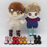 Multi-color 6 Points Bjd Cotton Doll Leather Casual Sports Shoes Doll Toy for 15CM Baby Doll