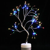 LED Christmas Tree Lights Twig Birch Tree Night Light Table Lamp Holidays Room Home Decor