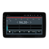 10,1 Zoll 1DIN für Android 9.1 Autoradio-Radio 360-Grad-Drehung Multimedia-Player 8 Core 2 + 32G 2,5D IPS Bildschirm GPS 4G WIFI FM AM