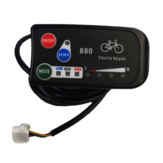 LED880 36V 48V Electric Bicycle Display Meater E bike Controller Scooter Panel Parts