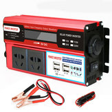 4000W Peak DC 12V/24V to AC 110V Power Inverter Digital Modified Sine Wave 4 USB Port 2 Sockets