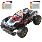 Eachine EAT12 1/28 RC Car with Two Batteries 2.4G 35km/h High Speed Waterproof RTR Off-road RC Vehicle Model for Kids and Beginners