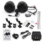 Amplificatore stereo dell'amplificatore dell'altoparlante del motociclo impermeabile 300 5,0 con la funzione Bluetooth