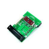 Pil Kapasitesi Test Cihazı Güç Dedektörü Voltmetre mAh mWh ile 18650 Pil Güç Bankası ile 0.56 İnç 4 haneli LED Ekran