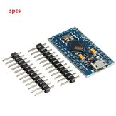 3pcs Pro Micro 5V 16M Mini Leonardo Microcontroller Development Board Geekcreit for Arduino - products that work with official Arduino boards