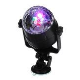 Sonido Active RGB LED Luz de escenario Bola de cristal Disco Xmas Club Fiesta de DJ con Control remoto
