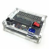 AVR Hochpräzisions-Frequenzmesser Messung Produktion Satz DIY 0,45 Hz-10 MHz mit Shell
