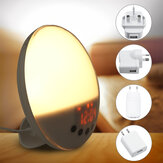 Sunrise Alarm Clock Lampe de chevet Radio FM Snooze Smart Wake Up Light Recording
