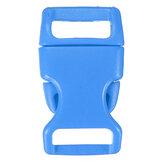 10pcs 15mm Plastic Contoured Side Release Buckles Helmet Bags Belt Fastener For Paracord Bracelets